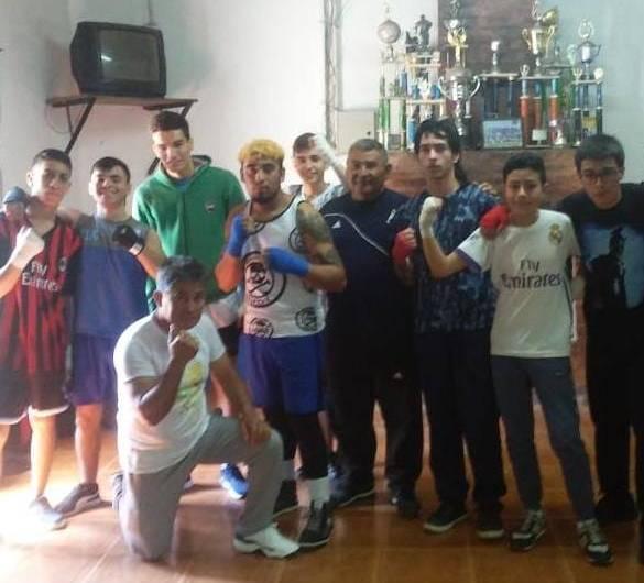 Boxeadores mercedinos se presentaron en Marcos Paz