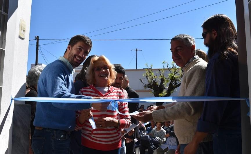 Ustarroz inauguró el Centro de Día de Mercedes dependiente de Desarrollo Social