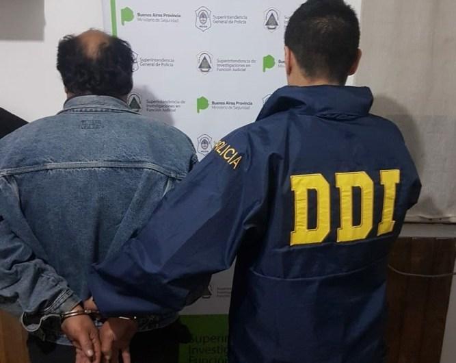 Departamental de Investigación Mercedes detiene abusados en Luján