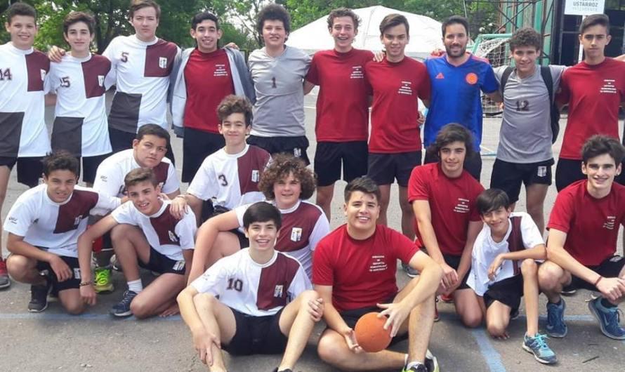 Por LiMeBa, hubo handball masculino en el Martín Rodríguez (Galería de fotos)