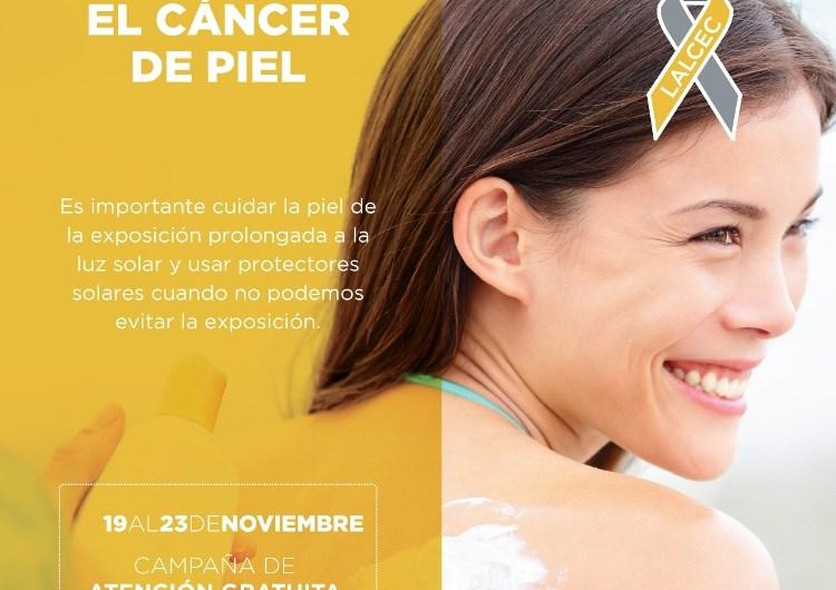 20 y 22 de noviembre: Campaña de prevención de cáncer de piel