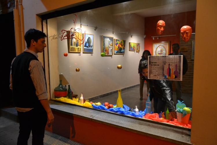 Los bodegones de Pablín Rodríguez están en el Teatro Talía