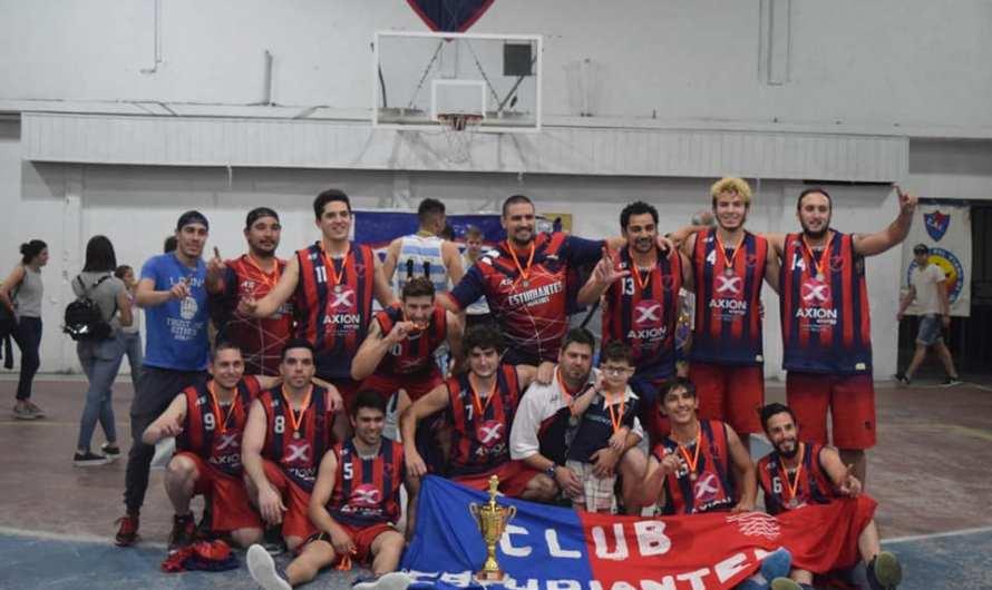 Estudiantes es el nuevo campeón de Primera División en la LNBA