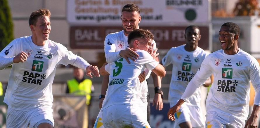 Con un gol de Ignacio Jáuregui sobre la hora, el Wattens rescató un empate