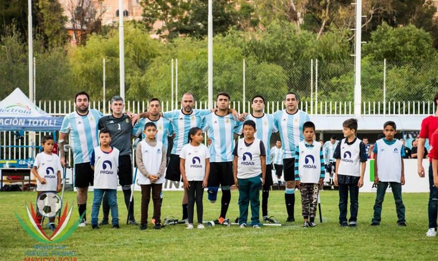 Por el Mundial de Amputados, Argentina venció a Francia por el Ranking