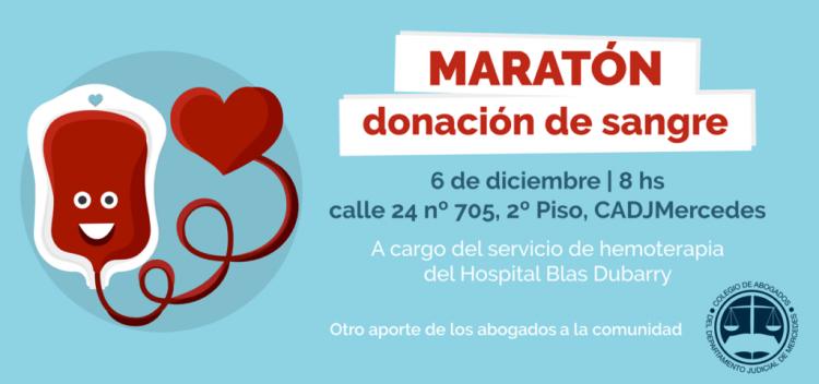 Abogados implementan campaña de donación de sangre