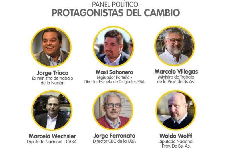Panel Político con referentes de Cambiemos
