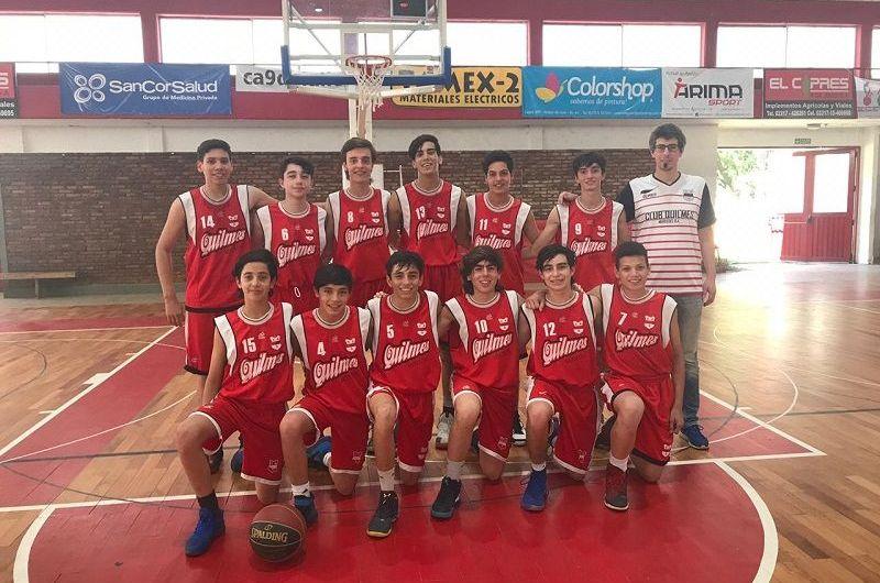 Quilmes finalizó cuarto el certamen de U15