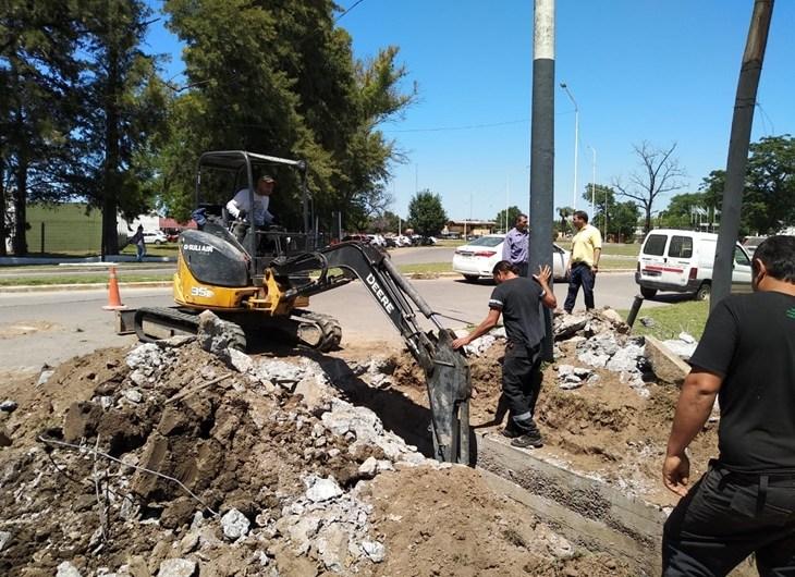 Municipio arranca obra hídrica en Av.2 y 31