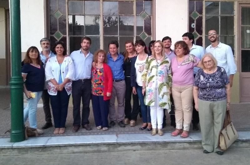 Sanchez Zinny presente en acto de CFL N° 401 y visitó la Escuela Normal