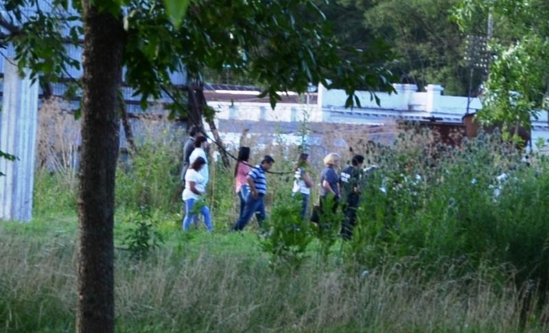 Realizaron medida de reconstrucción  por el homicidio de Sofía Santillán