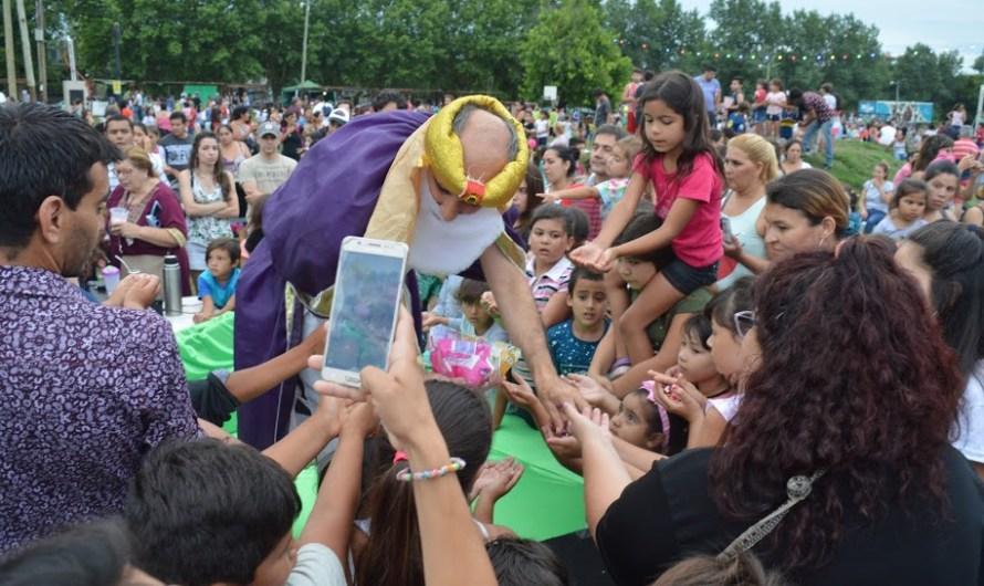 Los Reyes Magos llegaron a La Trocha para toda la familia