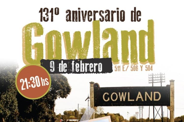 Festejan los 131 años de Gowland