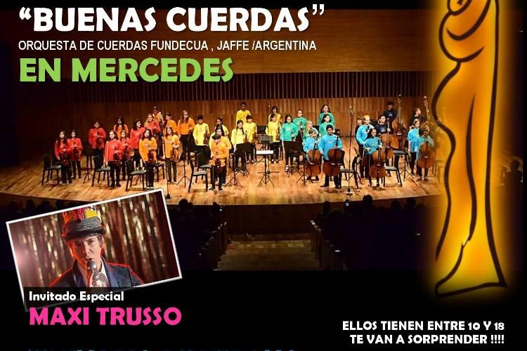 Orquesta de Cuerdas con Maxi Trusso en Mercedes