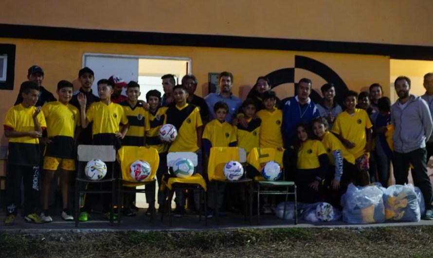Club Comunicaciones, junto al Municipio, siguen trabajando por los chicos de la ciudad