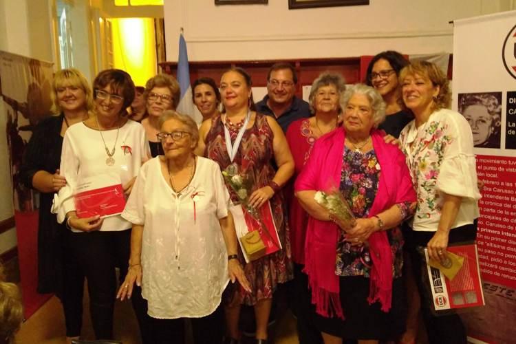 Ocho mujeres fueron homenajeadas por la UCR Mercedes