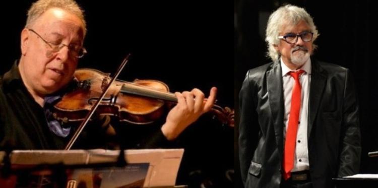 Dúo de violín y piano hacen tango en el Nacional