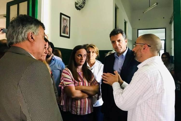 "Selva junto a Massa, en Pergamino, cuestionaron ""insensibilidad"" de Macri"