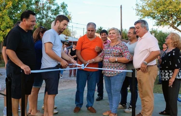 Plaza inclusiva en Barrio San Justo homenajea a Comita