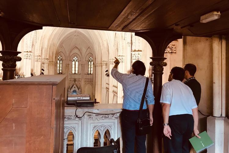 Ingenieros de provincia analizan el estado de la Catedral