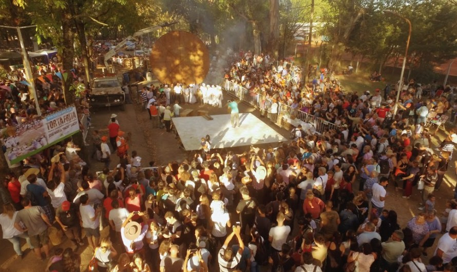 Destacan hubo asistencia récord en la 20° Fiesta Provincial de la Torta Frita