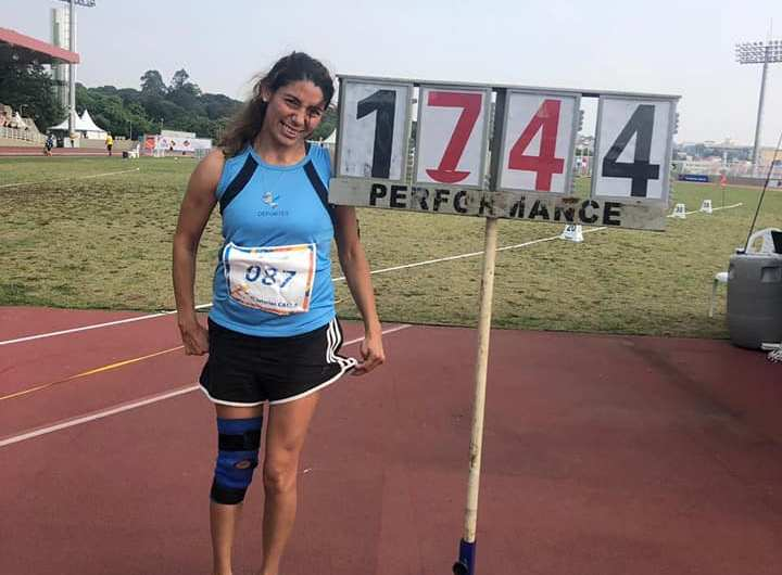 Romina Fernández ganó la medalla de Oro en Brasil