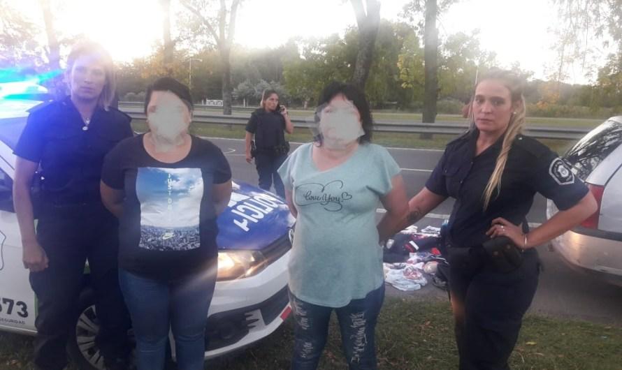 Tras persecución Policía Comunal detiene mecheras