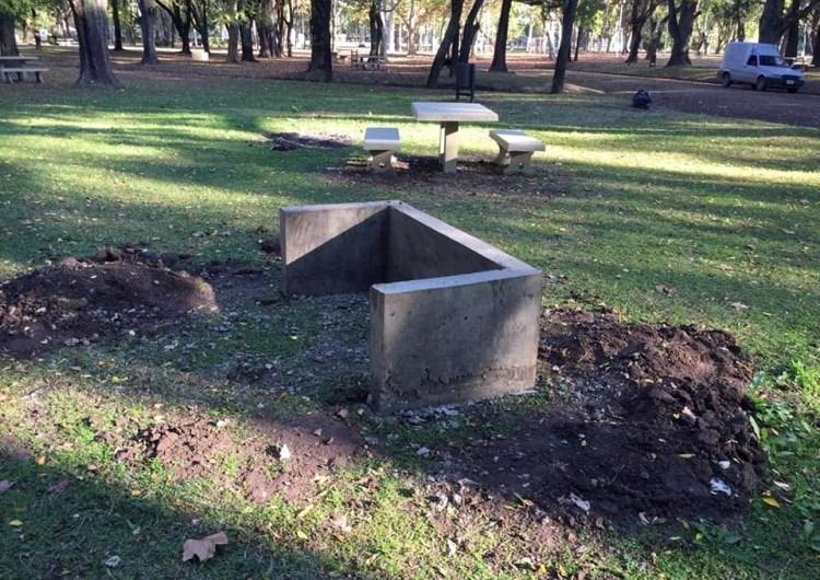 Avanzan las mejoras e inversión en el Parque Municipal