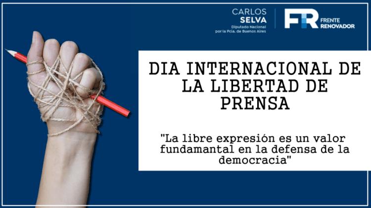 "Selva destaca ""valores"" de la libertad de prensa ""en defensa de la democracia"""