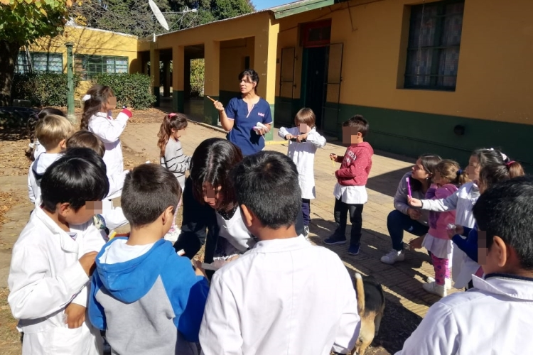 Programa de Sanidad Escolar recorre escuelas