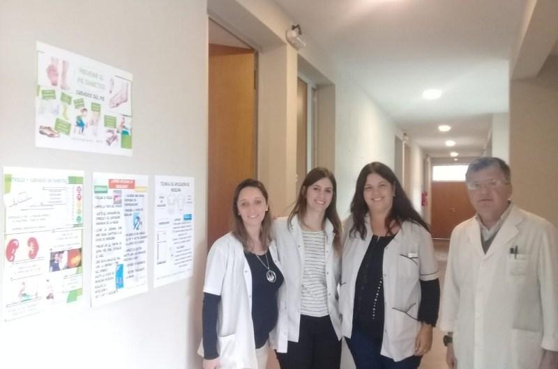 SAPEC: Comenzó a funcionar el consultorio Pie Diabético