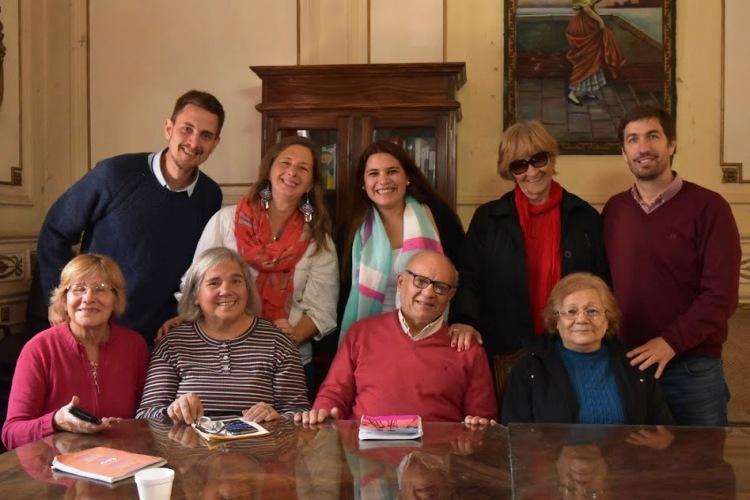 Festejos en el Villa Abrile con el anuncio de un segundo hogar para adultos mayores