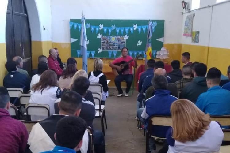 Celebraron el 25 de Mayo en las escuelas de la cárcel