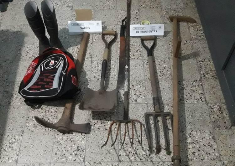 Investigación policial logra esclarecer robo en Gowland