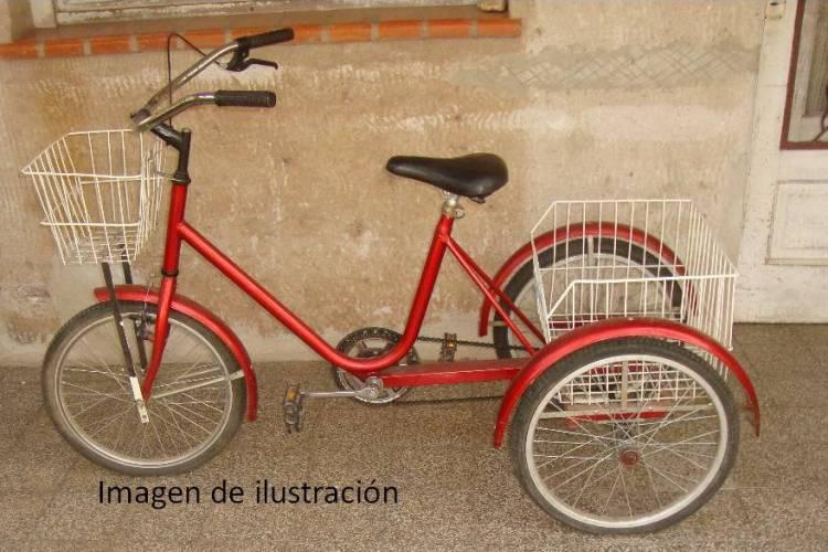 Un aprehendido por  robar una tricicleta en el centro