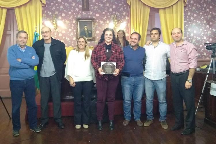 Nuevo reconocimiento a Debora Martinelli