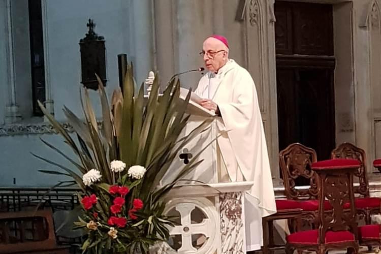 Misa en memoria del Nuncio Catedral de Mercedes
