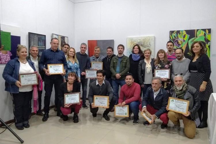 Entregaron premios en el Salón de Pinturas