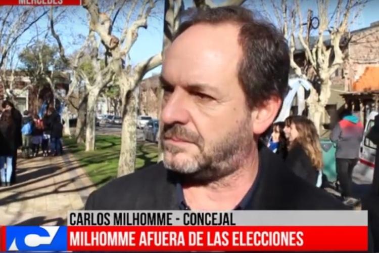 """Carlos Milhomme: """"No estoy dolido, pero sí fortalecido por la experiencia"""""""