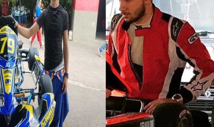 Germán Dimaro y Francisco Pontón participarán del Mundial de Karting en Las Vegas