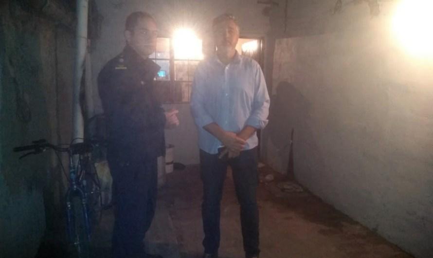 Comisarios Inspectores Macedo y Castro encabezan 4 allanamientos