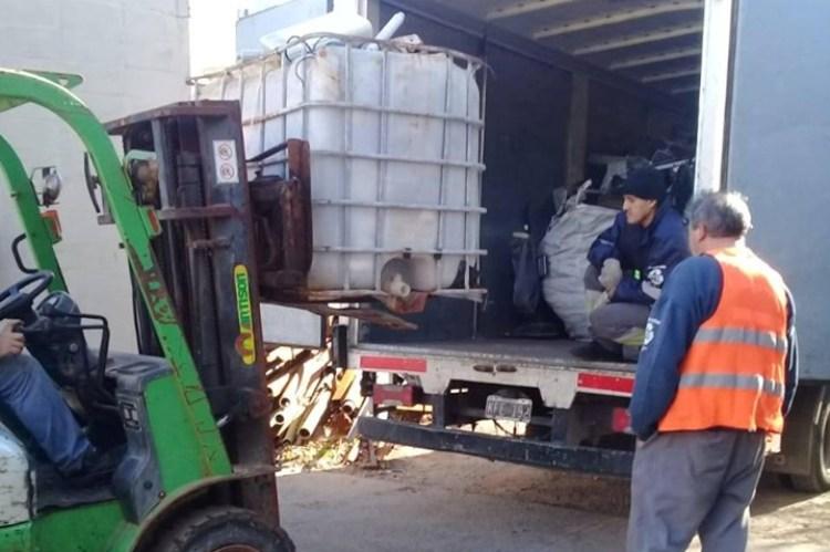 Envían 15 toneladas de materiales eléctricos para su reciclado