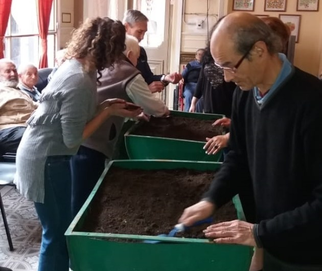 Adultos Mayores involucrados con el cuidado del ambiente