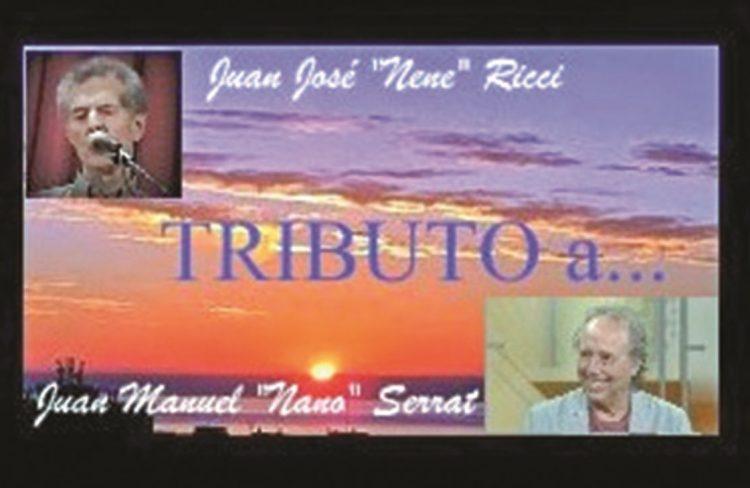 Se viene el CD: «Juan José (Nene) Ricci Tributo a… Juan Manuel (Nano) Serrat»