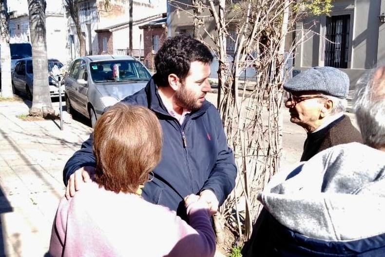 La 25 de Mayo recorre barrios en centro y en zona rural