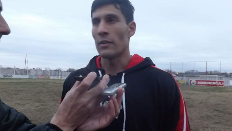 Diego Ludueña volvió al fútbol chivilcoyano