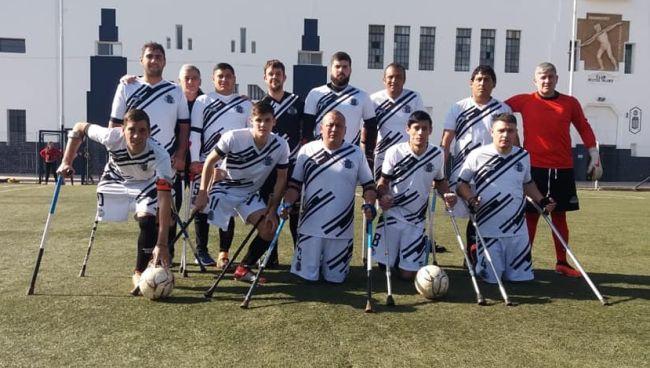 El Fútbol de Amputados se juega este sábado en Club Estudiantes
