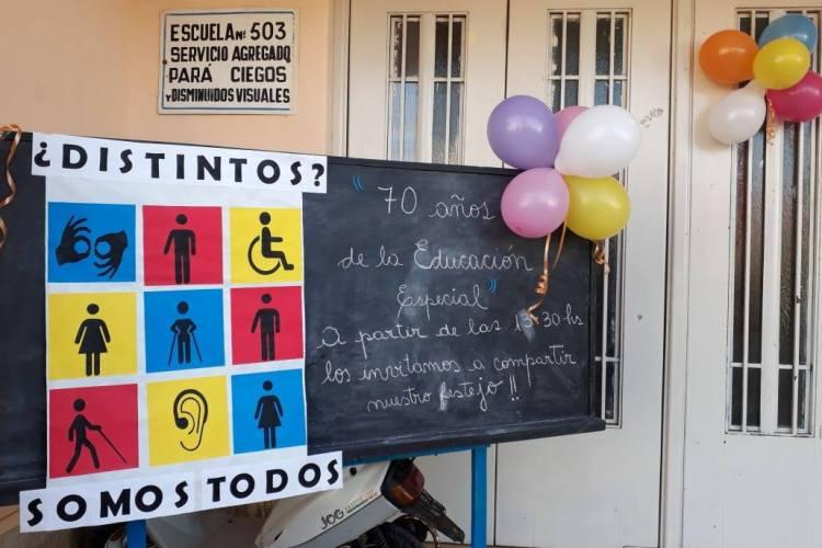 Sigue la semana de festejos por los 70 años de Educación Especial