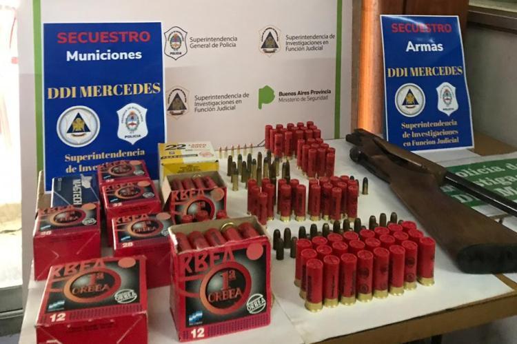 Navarro: Secuestran municiones y armas de fuegos ilegales