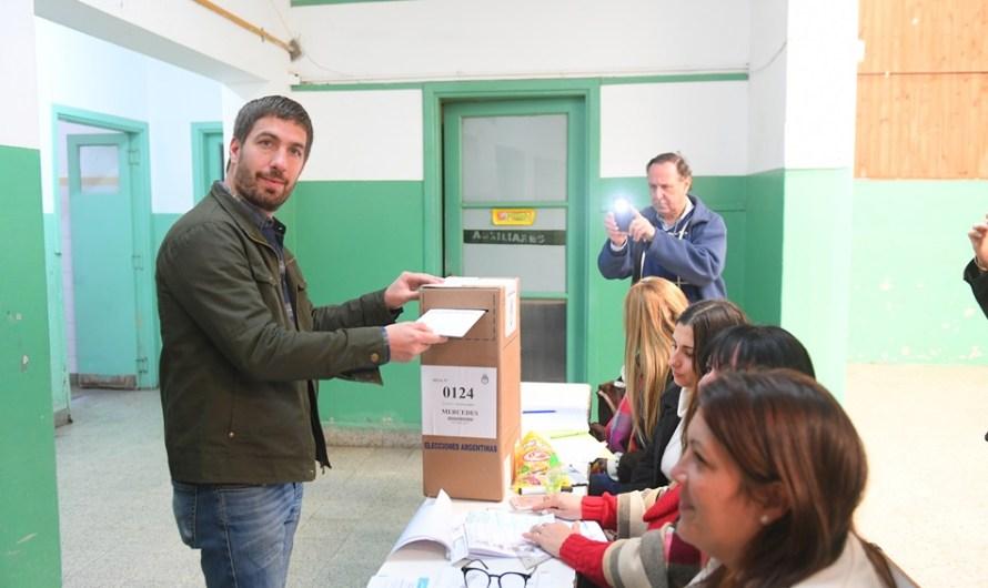 """Juan Ignacio Ustarroz: """"Es un día muy lindo, recibimos mucho apoyo y respeto"""""""